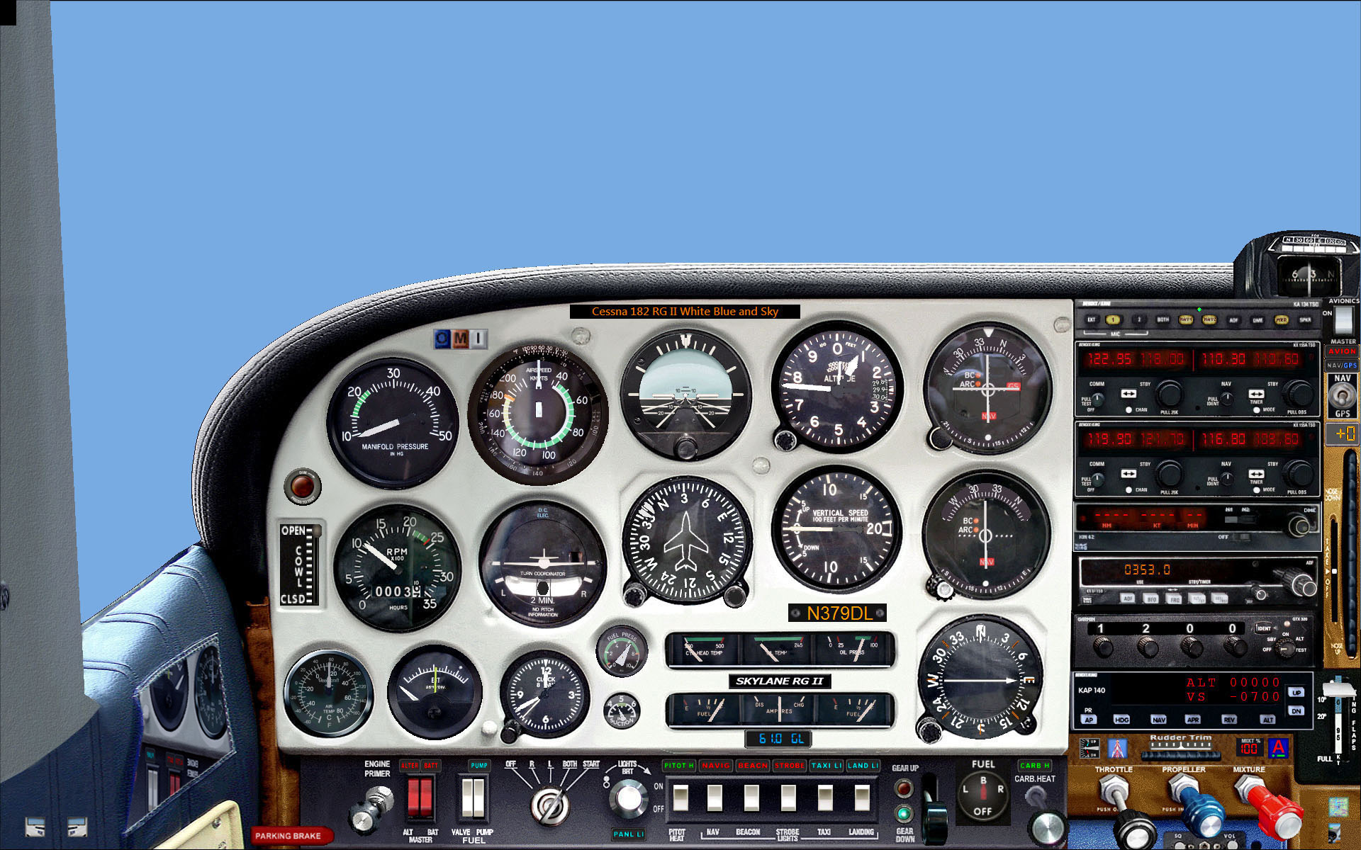 Cloudy Panels for FS2004