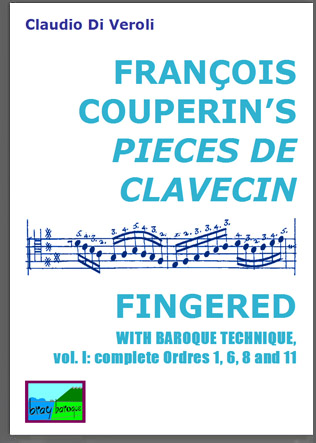 F. Couperin Pieces de Clavecin with Baroque Fingerings
