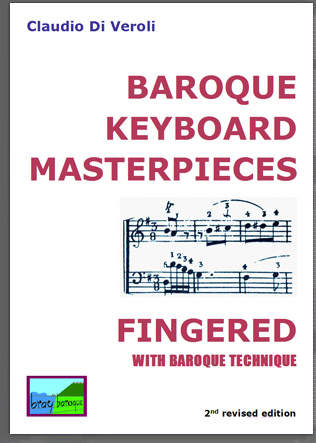 Baroque pieces fingered as exercise for old fingerings in scales