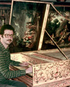 Playing a French Baroque Taskin harpsichord