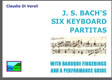 Bach Six Keyboard Partitas Fingered
